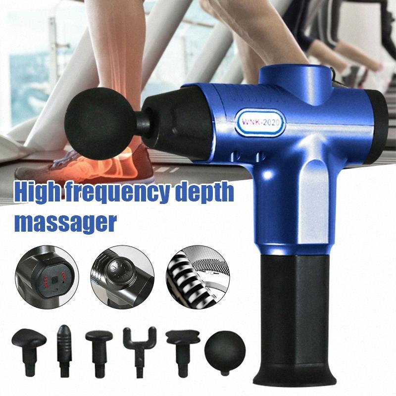 Высокое качество Портативный электрический массажер Mute Электрический Массаж тела Инструмент Ручной мышц Массажер ED889 yVPo #