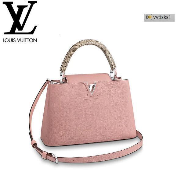 vvtisks1 LPN9 M51144 Capucines PM Magnolia Women HANDBAGS ICONIC BAGS TOP HANDLES SHOULDER BAGS TOTES CROSS BODY BAG CLUTCHES EVENING