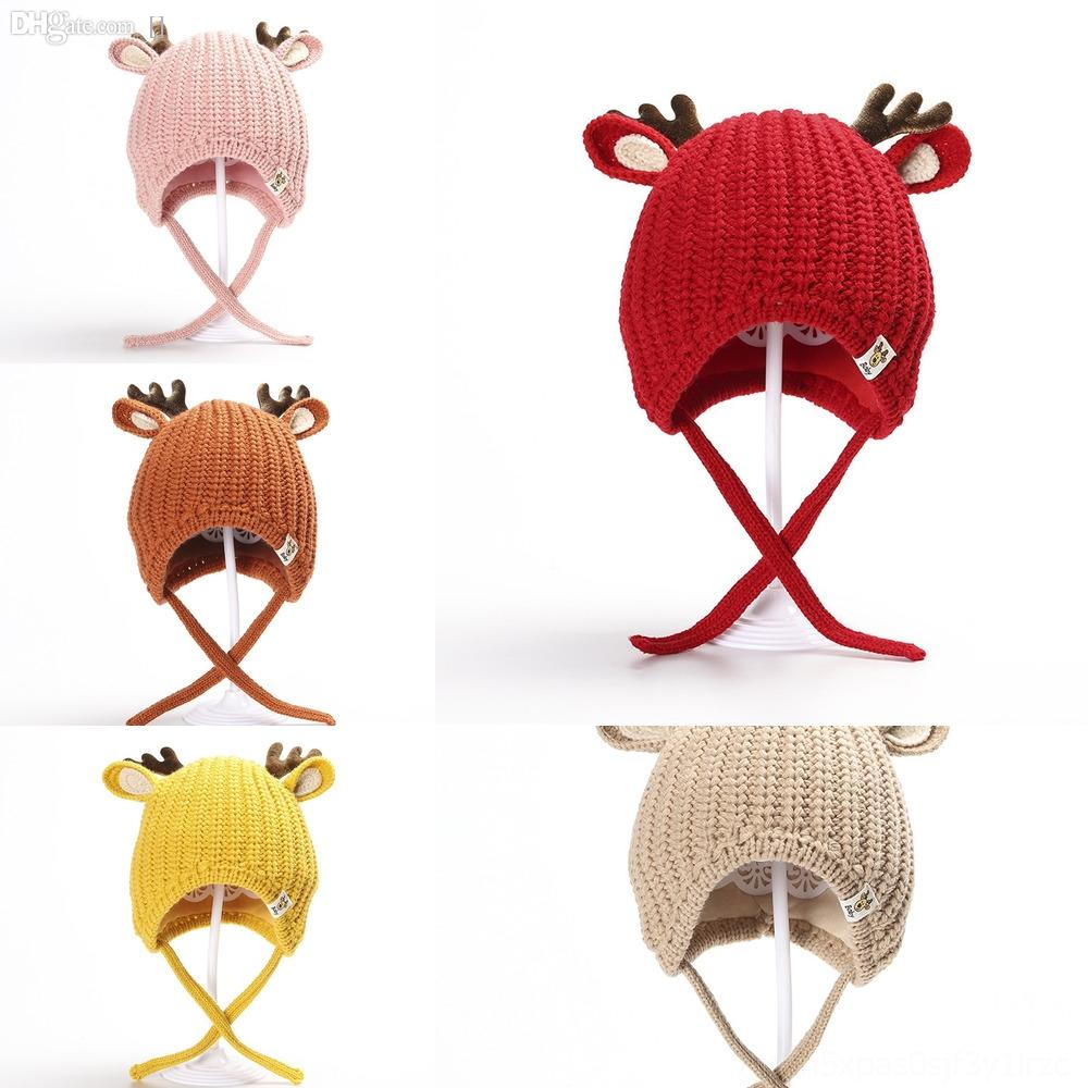dsTKl Long Tail Hats Hand Knit Cap Novelty Christmas Parent Offspring Theme Hat For Children Birthday Best GiftszZZ