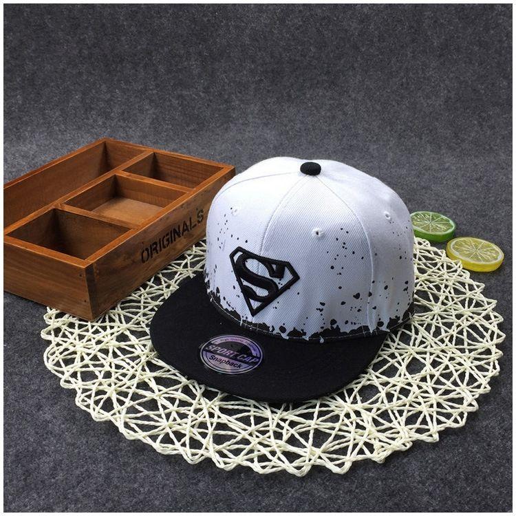 S lettera bordo piatto stile yOwii coreana ricamato hip genitore-figlio Hip-Hop hip-hop molla del cappello Street e l'estate parasole maschio e femmina fl