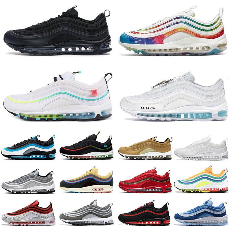 nike air max 97 Worldwide Pack airmax 97s MSCHF x INRI Jesus stock x Sean Wotherspoon OG UNDEFEATED