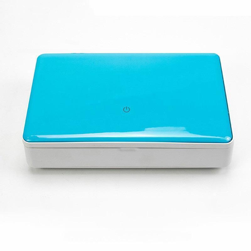 cgjxs Beispiel Link-Phoneshower Mobil UVsterilisator A03 kabellose USB-Ladegerät Telefon-Schlüsselmaske Kopfhörer Uhr Löffel 99% Uv Sanitizer