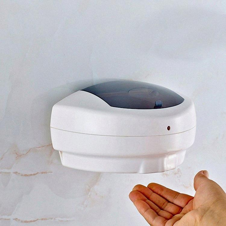 500ml Touchless Liquid Soap Dispenser Alcohol Machine Automatic Soap Dispenser home hotel Wall-mounted Hand Sanitizer Gel Dispenser FF alPu#