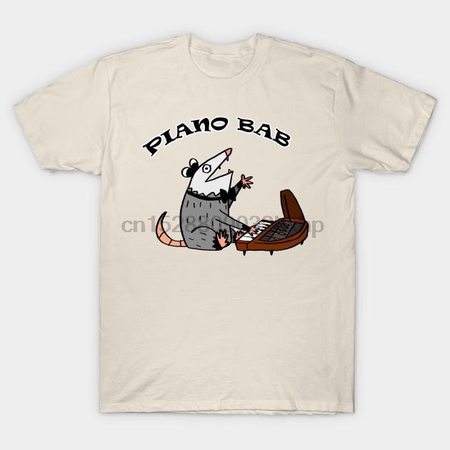 T-shirt Short Hommes Piano Bab Opossum T-shirt tshirt femmes