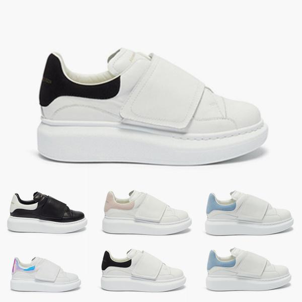 2020 Boy Girls fashion leather sneakers Kids Platform Casual Shoes Originals and Kids Cushioning Jogger Shoes size 25-37