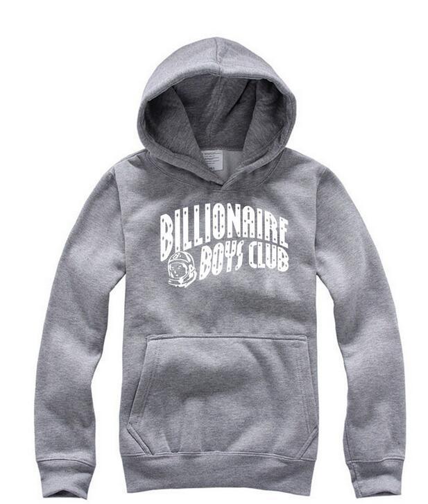 New American TV série Billionaire Boys Club les mêmes poches pull avec capuche pour hommes de la marque de mode simple, pull Lapel