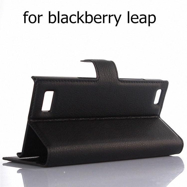 BB bisiestos Casos de lujo para Blackberry pasaporte Silver Edition con soporte de la carpeta de la PU del tirón del cuero magnética Cubre bolsa de piel para BB Priv HjkY #