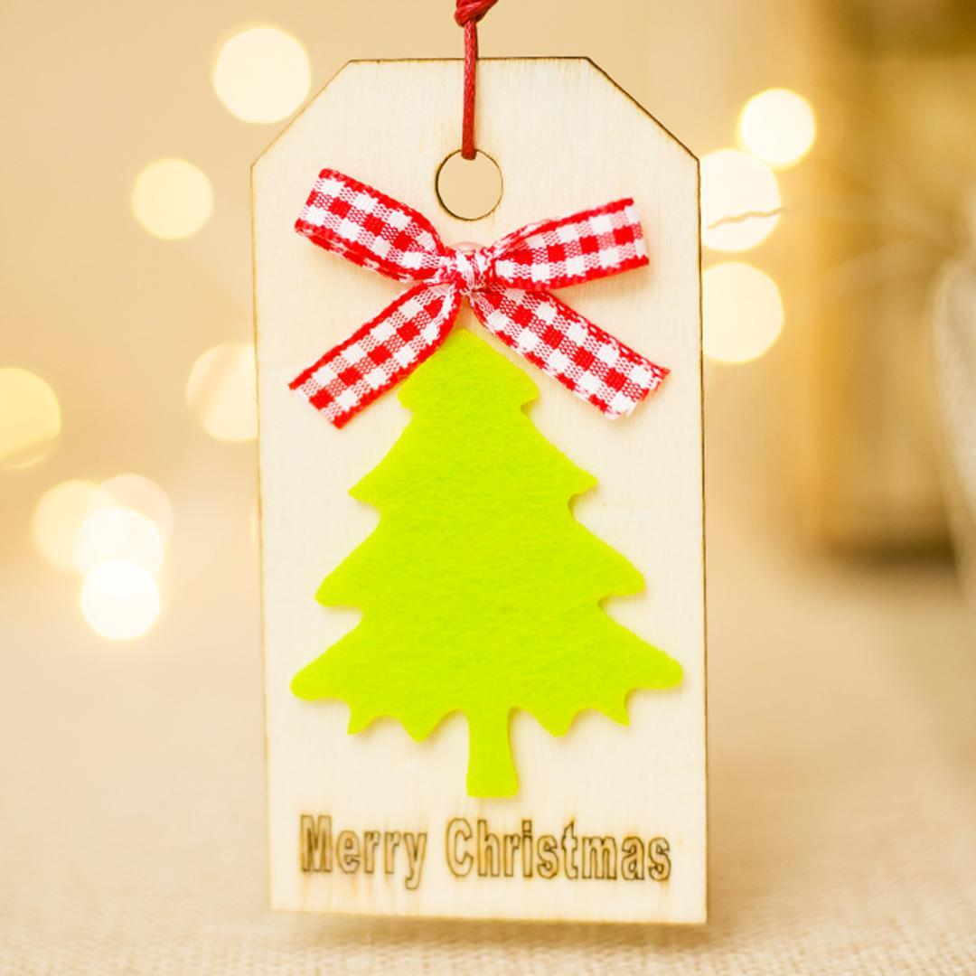 5x9 5cm Natural Wood Christmas Ornaments Pendant Xmas Tree Pentagram Elk Pattern Wooden Sign Style Hanging Home Decorations Best Holiday Decorations Best Xmas Decorations From Highqualit05 30 31 Dhgate Com