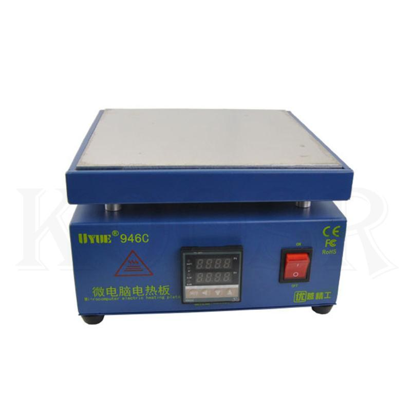 UYUE 946C двойной цифровой дисплей регулируемые постоянная, экран мобильного телефона сепаратор electrome скай Нагреватель свободная перевозка груз