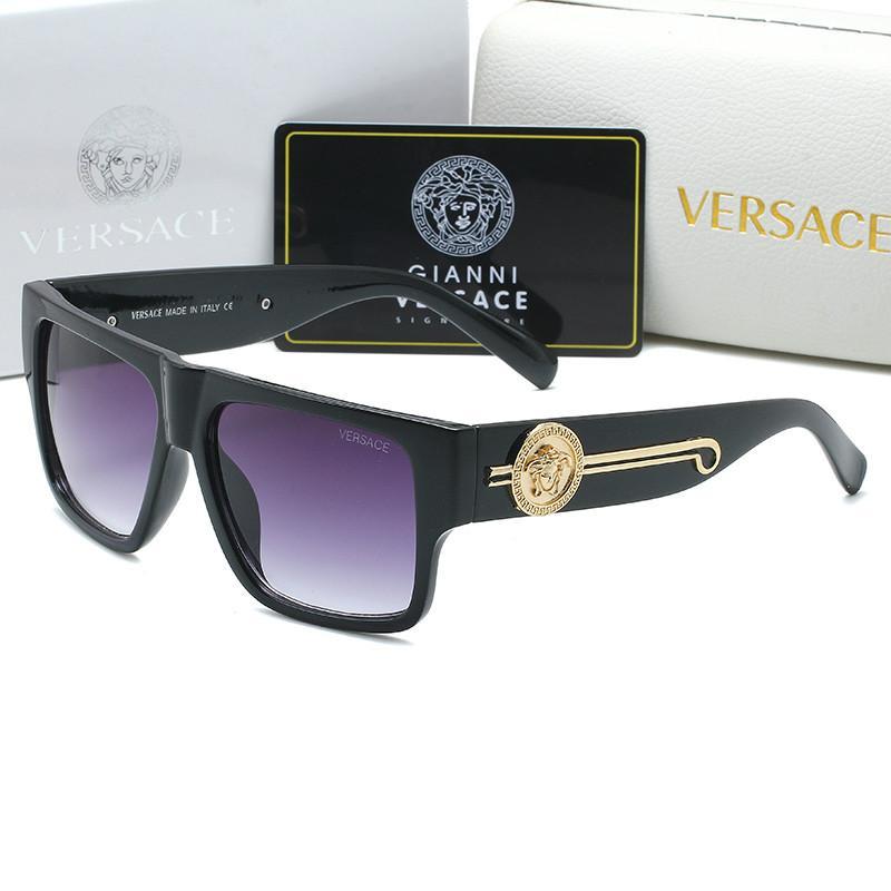 2020 Marke 4368 Sonnenbrillen für Frauen Retro-Mode übergroßer Schatten von mehrfarbiger Persönlichkeit Sonnenbrille für Männer und Frauen