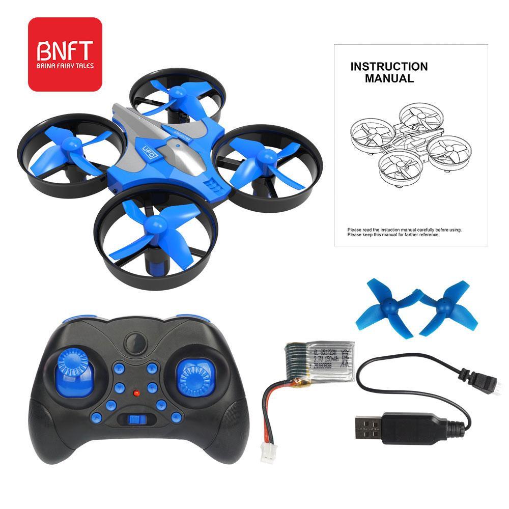 2.4G Control remoto Drone 360 ° Rotación de alta calidad Mini Aviones de cuatro ejes Ambos y niña