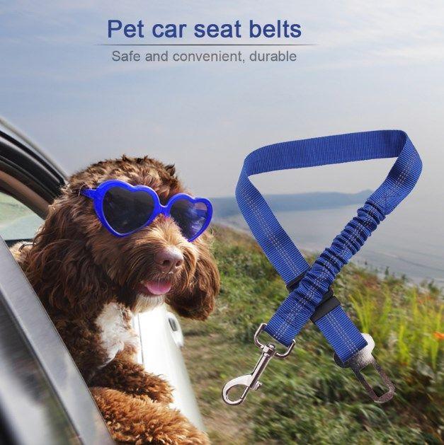 Pet Dog Supplies Автомобиль Автомобиль собак Pet Ремень Pitbull Puppy автомобиля ремень безопасности безопасности Рычаг Harness Lead зажим Traction