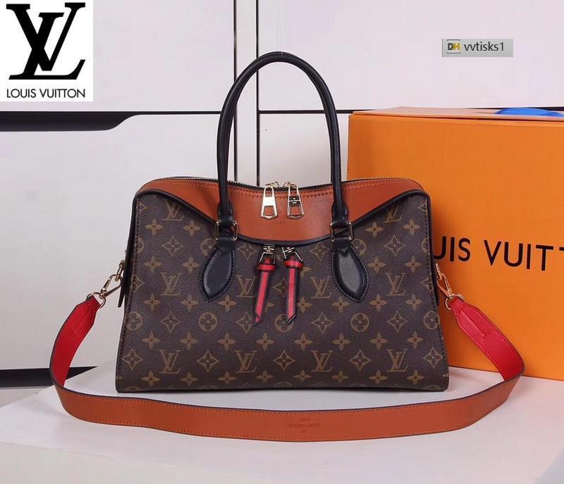 vvtisks1 2XBI Orange M41455(A4EF) Women HANDBAGS ICONIC BAGS TOP HANDLES SHOULDER BAGS TOTES CROSS BODY BAG CLUTCHES EVENING