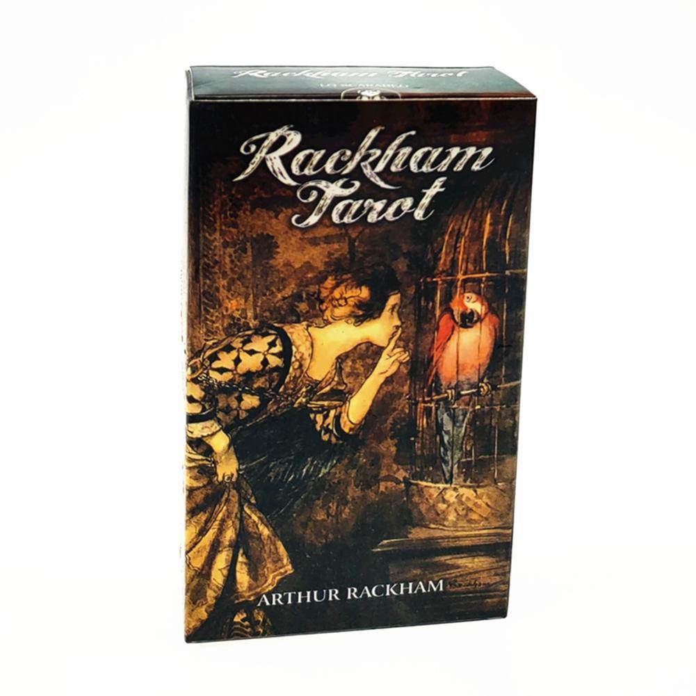 Spiel Divination Deck Tarot Guidance Oracle Fate Englisch Karte Rackham Version 78pcs Tarot Brett Karten Spiel bbyNsk mjhome