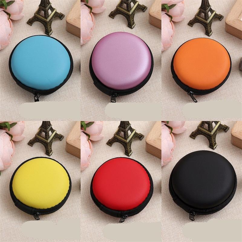 Küçük paralar Cüzdanlar Moda Renkli Mini Cüzdan Dairesel Zippy Para Çantaları Kart Anahtar Konteynerleri Bay Çocuk Kadınlar 0 95lg C2
