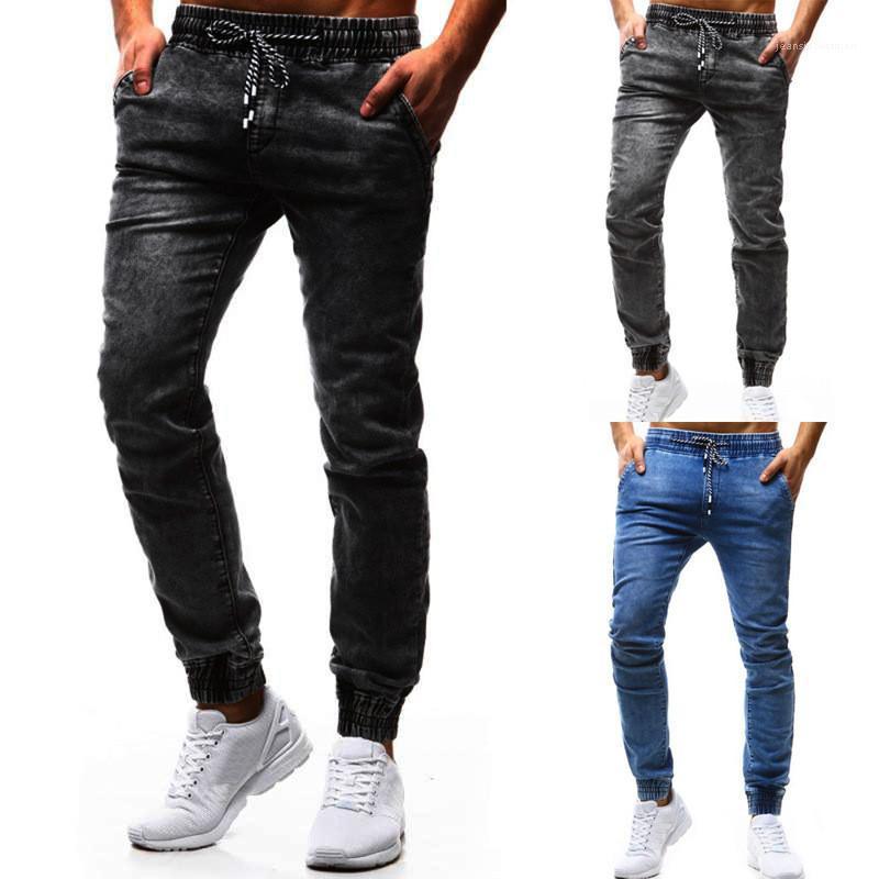 Pantalon Designer Slim Mens Washed Jeans Pantalons automne Casual Skinny longues Vêtements Homme Mode Hommes Crayon