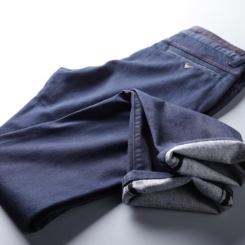 J0THw --- 2020 и весной новый мужской темно-синий деним --- 2020 и брюки весна новый мужской темно-синий деним брюки