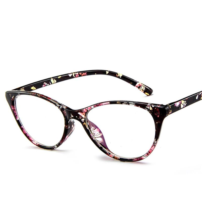 2020 Vintage eyeglasses women men clear glasses New Fashion Cat Eye Glass Frame G2382