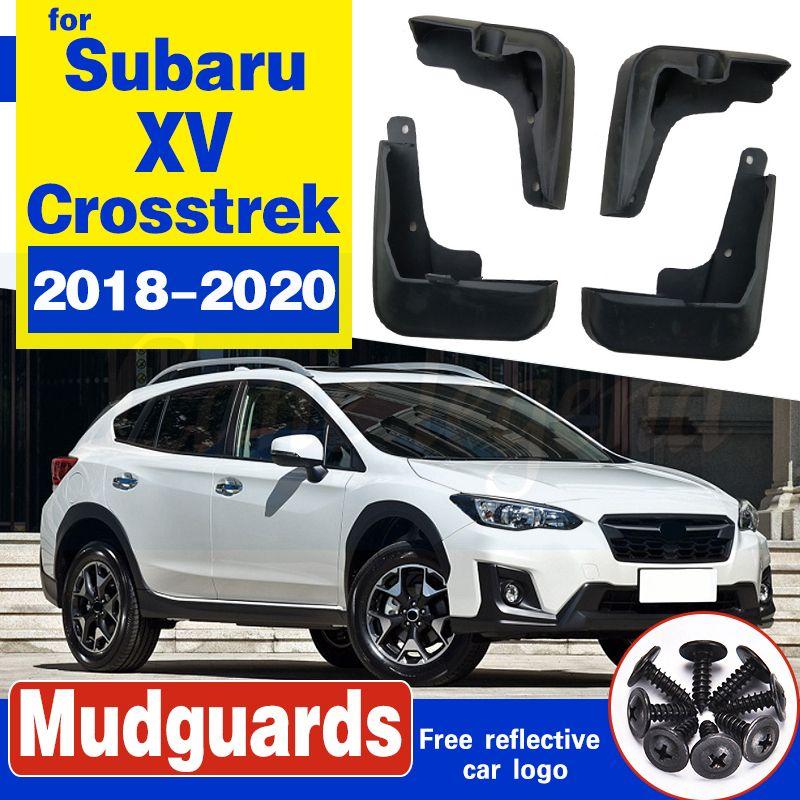Auto-Schmutzfängern für Subaru XV 2018 2019 2020 Crosstrek Mudflaps Spritzschutz Schmutzfänger Schmutzfänger Zubehör