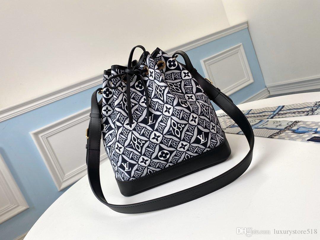 LOU1S VU1TTON M57154 неподдельной кожи женщины шнурок твист сумка посыльного плечо мешок кармана Totes сумки для покупок рюкзака Key Бумажники