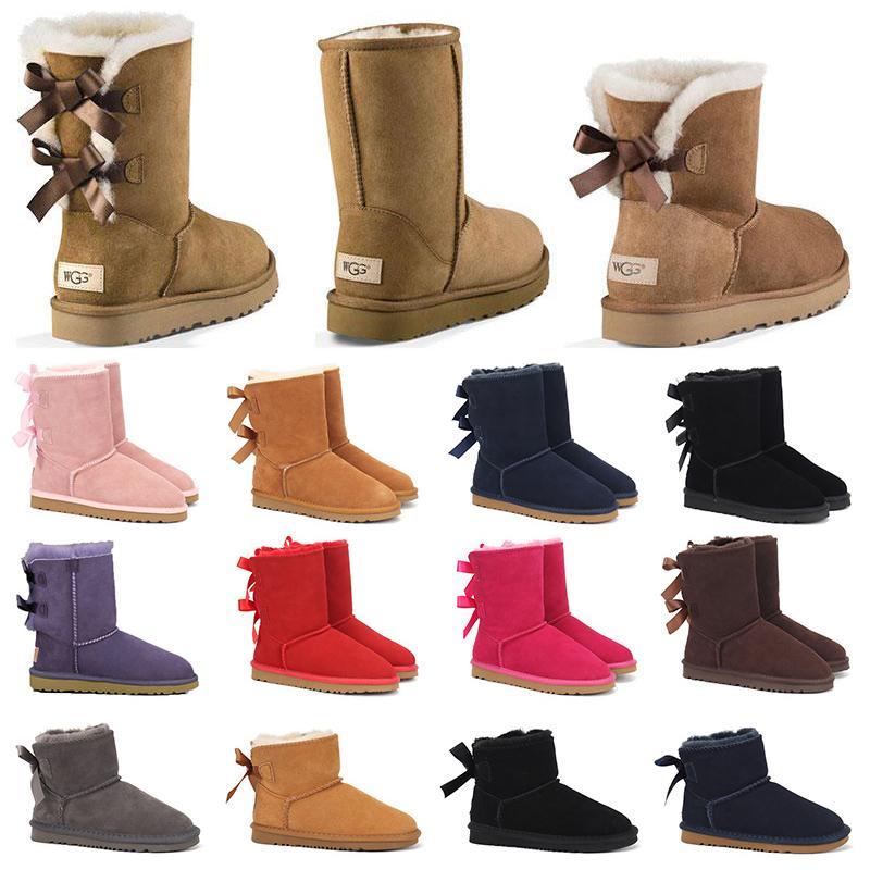 australia designer u botas gg nieve de diseñador para mujer lujosos zapatos de plataforma de piel para mujer dama invierno zapatillas planas hasta la rodilla zapatillas de deporte