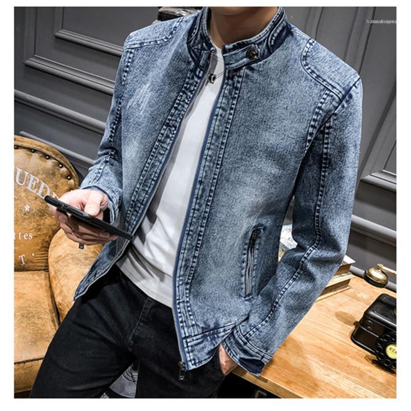 Denim Cappotto di lusso del Mens Plus Size Outerwear Jacket Designer Mens casuale sottile calda