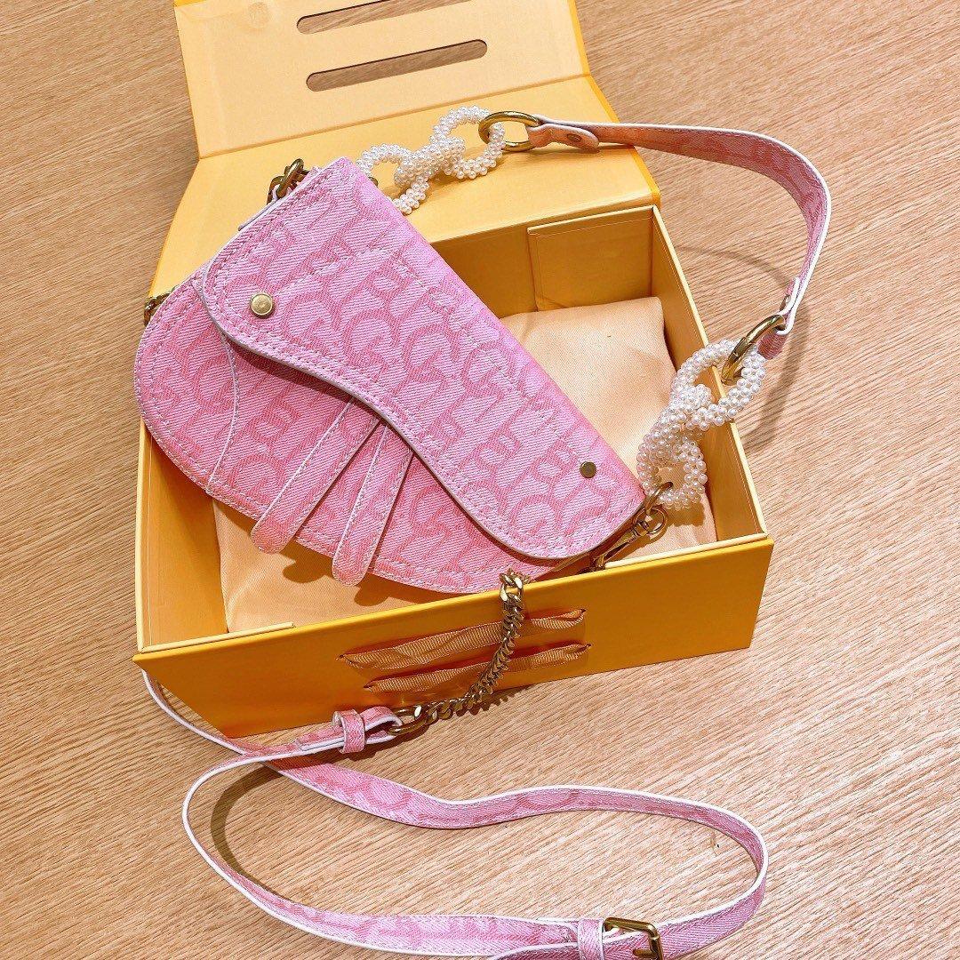 Ombro Moda feminina Retro Saddle Bolsa Vintage Saddle Bag Classic Canvas Handbag Estilo Crossbody Bag Hot Venda Shoulder Handbag Type4