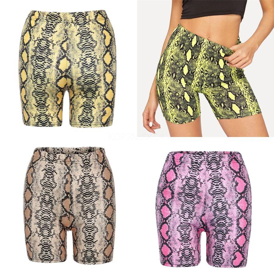 Женская йога шорты лето Высокий Фитнес тренировки Женщины Упругие Quick Dry Спорт шорты для бега 7 цветов 050411 # 689