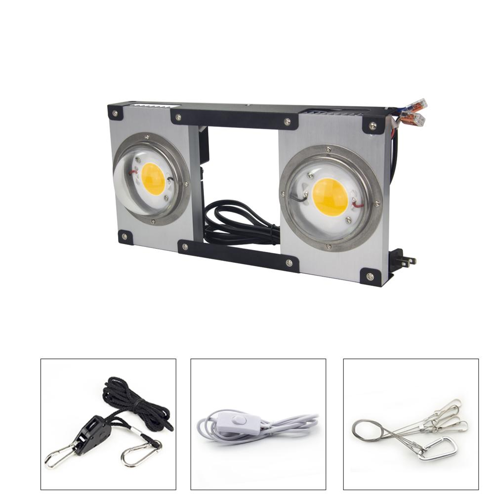 COB LED Grow Light Full Spectrum CREE CXB3590 200W LED Plant Grow Lamp for Indoor Tent Greenhouses Hydroponic Plant