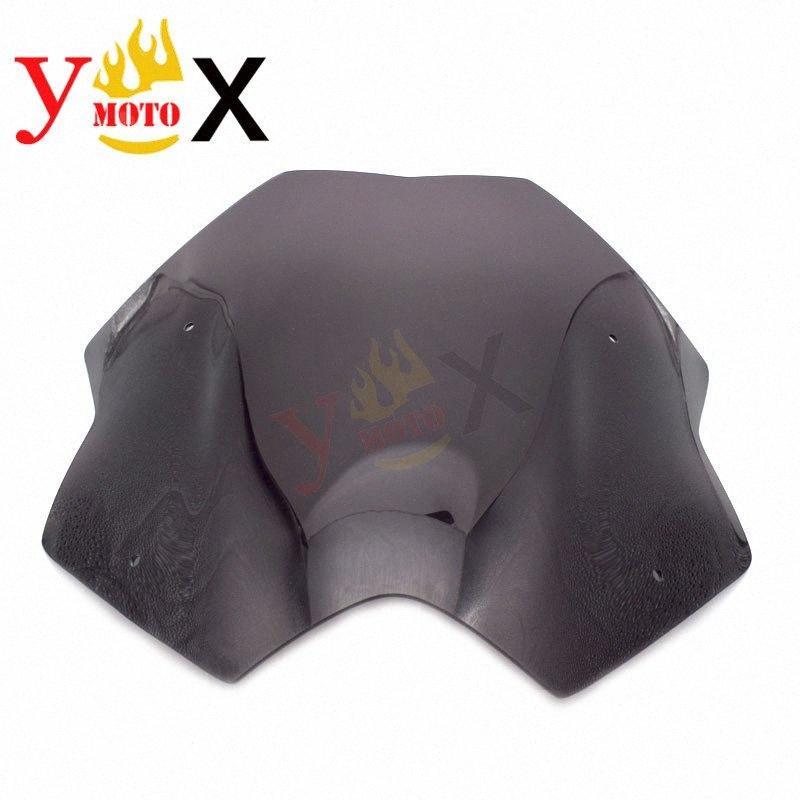 Koyu Duman Maxi Scooter Motosiklet Ön cam Cam Rüzgar Cam İçin TMAX530 T MAX530 2012 2016 2013 2014 2015 12 13 Iskl #