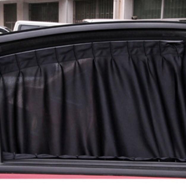 2pcs Universal Sunshade Car Curtain Car Side Window Sunshade Curtains Car-Styling Auto Windows Curtain Sun Visor Cover