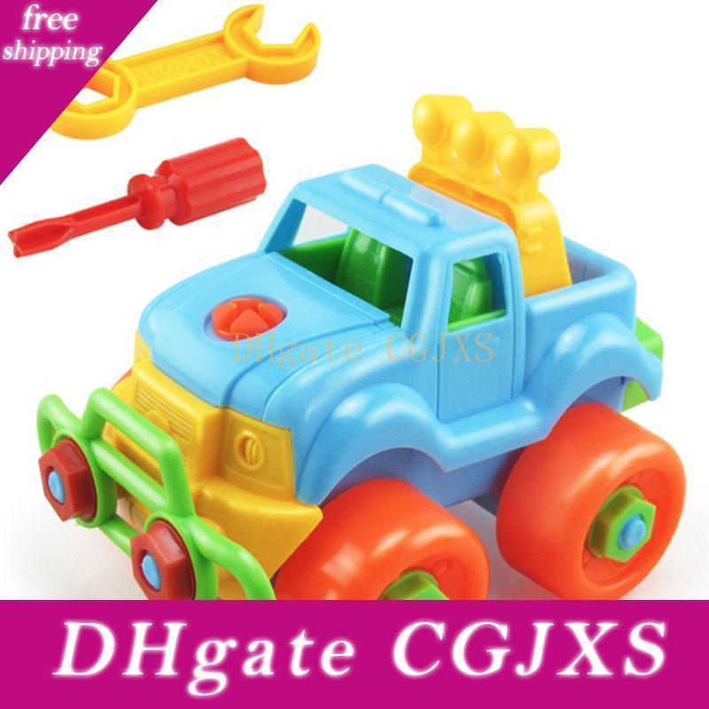 Presentes crianças Mãos Educacionais S -No Diy Toy Car Desmontagem Off -Estrada Vehicle Car crianças