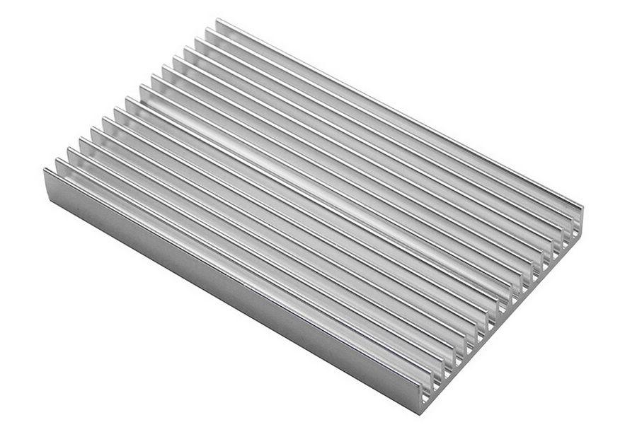 100x60x10mm poder 100pcs del disipador de calor del radiador del amplificador disipador de calor de aluminio del disipador de calor del módulo especial para la refrigeración