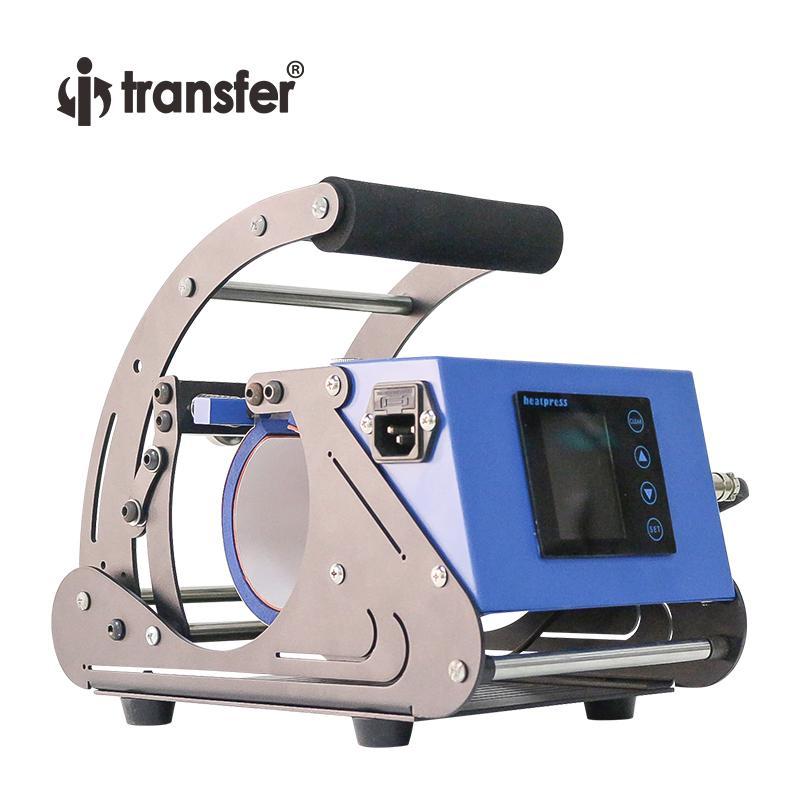 i-trasferimento dello schermo di tocco di trasferimento intelligente controller di calore della tazza macchina della pressa di 11 once sublimazione Blanks di calore della tazza stampatrice