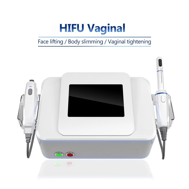 HIFU Cara Levantamiento Vaginal Apretar Vaginal Máquina anti envejecimiento de alta intensidad enfocada Ultrasonido Face Face Levantamiento de la piel Máquina de HIFU