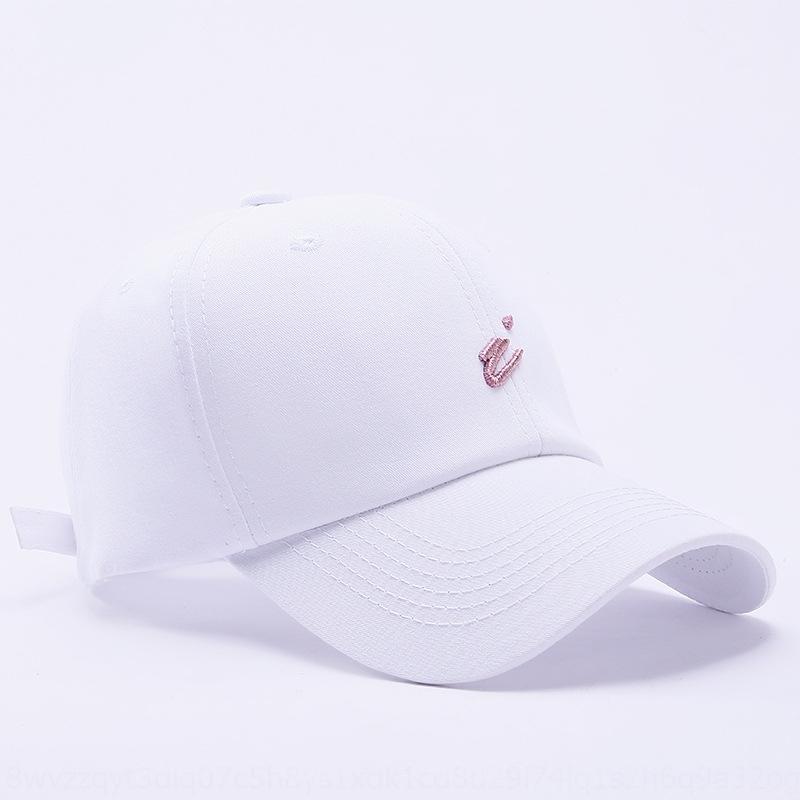 YqwYf 2020 Frühling und Sommer neuer Hut I-Brief Stickerei personifizierte Art und Weise Baseball Wo Männer Frauen Männer und Kappe der Frauen im Freien Sonnenschirm b