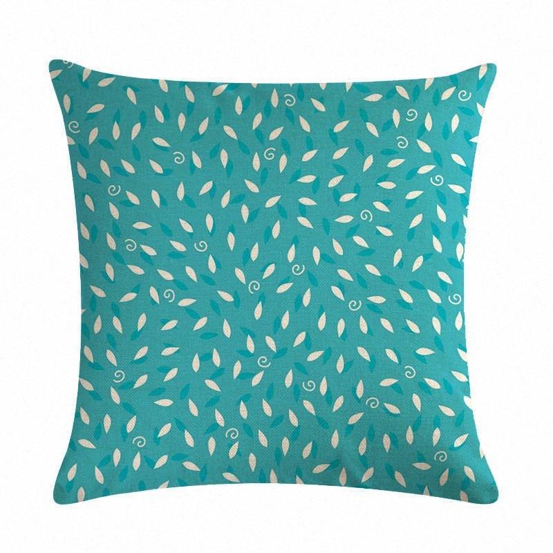 Creativo geometrica della stampa del modello o un'immagine in lino della moda di New comodo o un'immagine cuscino del divano Home Decor VMa5 #