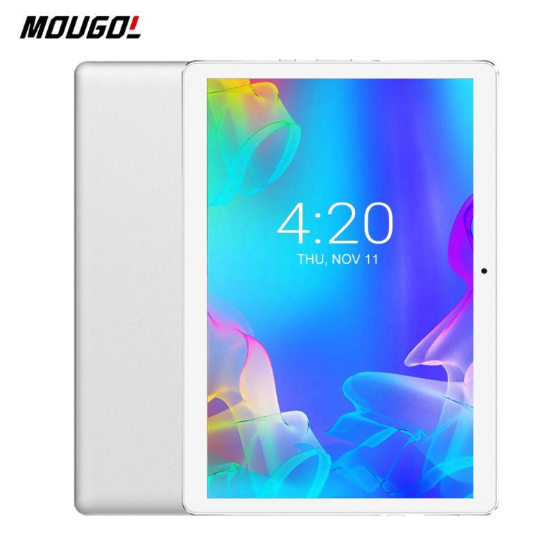 Tablet PC 10 Inch Quad Core Android 9.0 Dual SIM Cards 3G Phone Cameras Tablets 10.1 32GB ROM WiFi