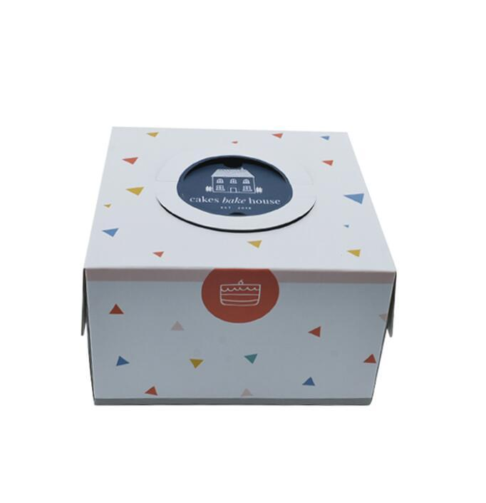 OEM DIY торт коробка упаковки оптового логотип быстрого приготовление сорт бумага торт Дизайн упаковка кекс чашка торт Box Выпечка