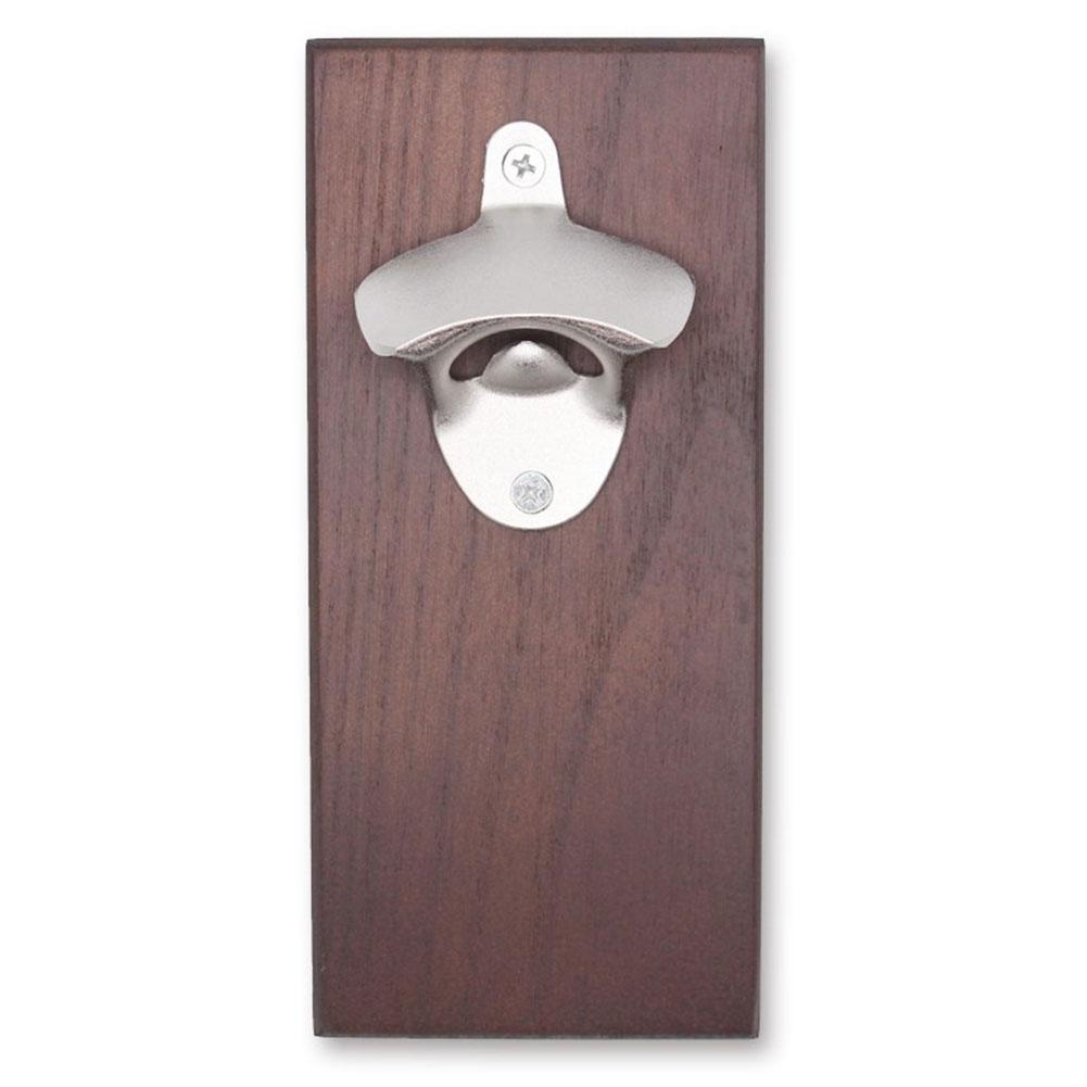 Restaurant Fridge Magnet Hotel Home Wooden Magnetic Wall Mounted Bottle Opener