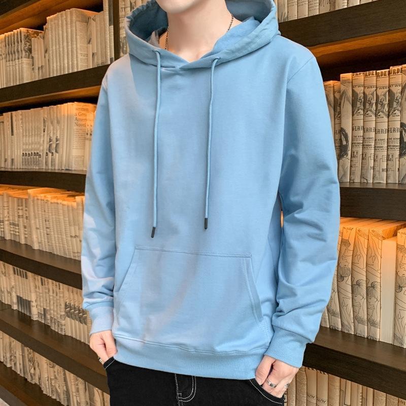 2020 primavera e l'autunno del maglione del cappotto con cappuccio da uomo in cotone di sport maglione studenti sciolto ST0ks paio di svago cappotto
