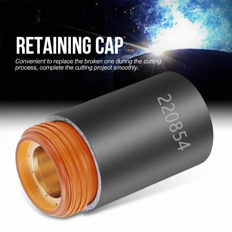 220854 Plasma Retaining Cap Max105 Plasma Cutting Cover Retaining Cap for Welder Torch Vi9b#