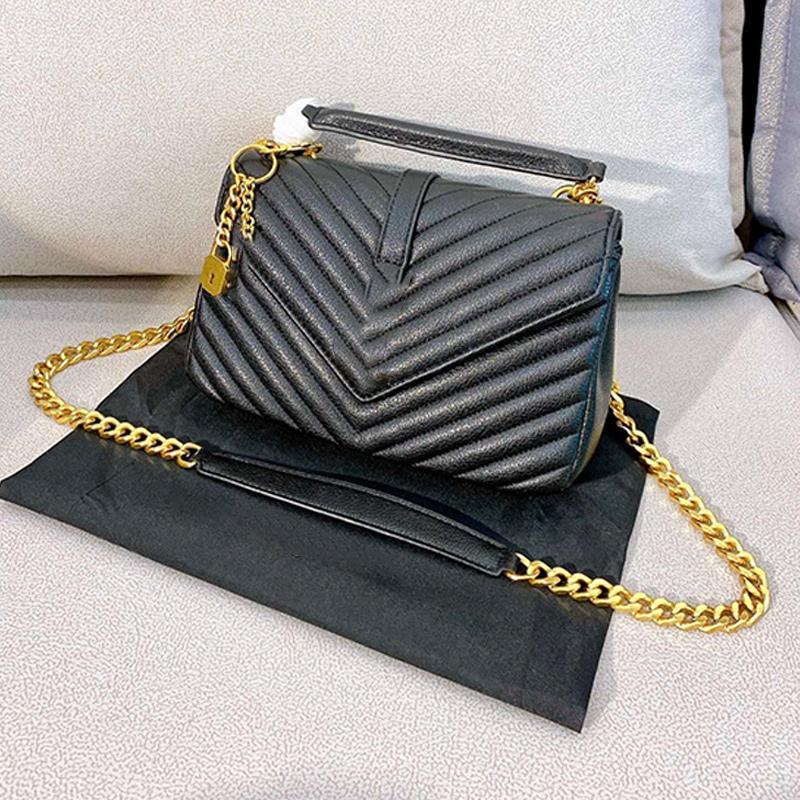 Estilo clássico de Mulheres Bolsas Flap Cadeia Messenger Bags Preto Crossbody couro grande capacidade de ombro bolsas de couro bolsas Bolsa Type1