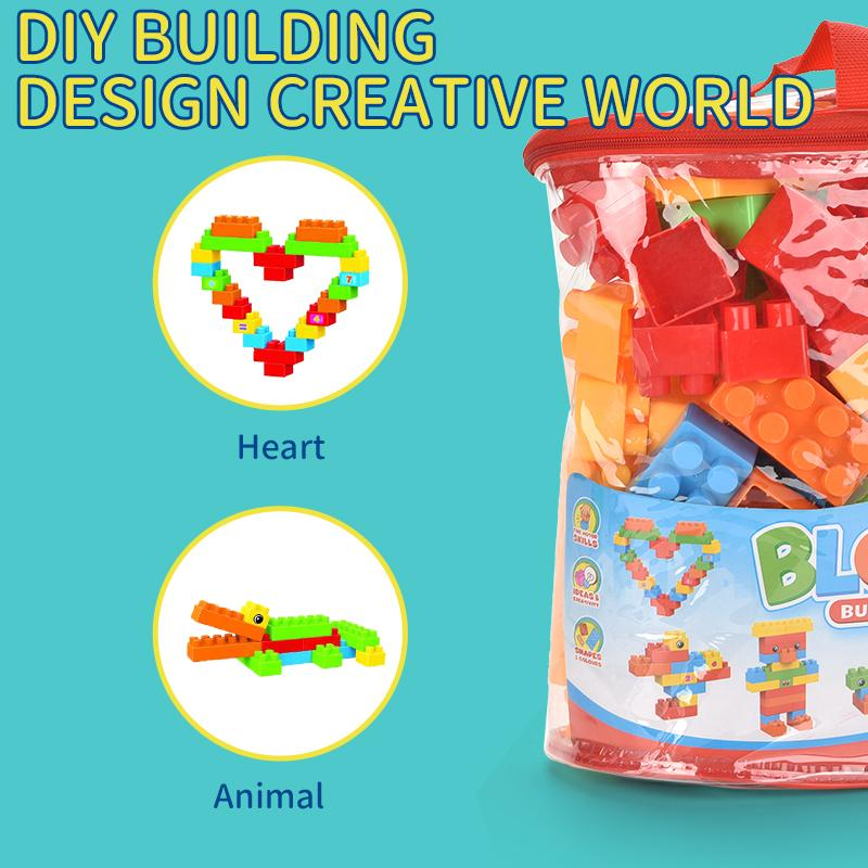Children's building blocks toys, puzzle interesting, building blocks of various shapes, building blocks to the baby to bring real fun and ha