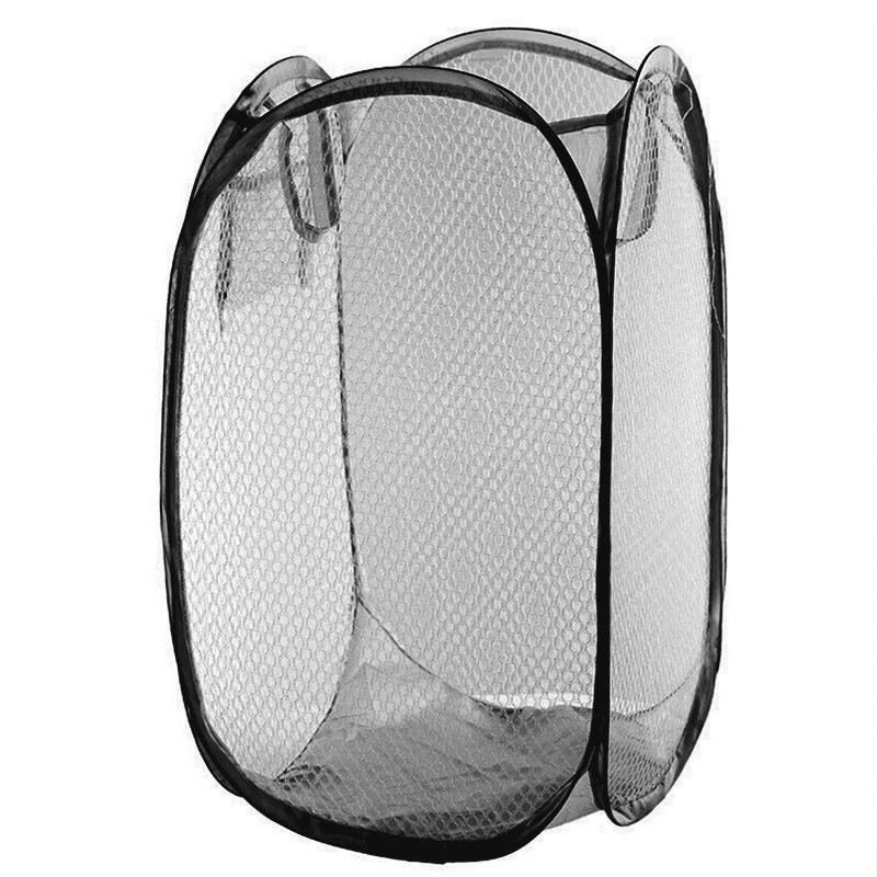 Faltbare Wäschekörbe Pop Up Easy Open Mesh Wäschekorb Wäschekorb für College Dorm
