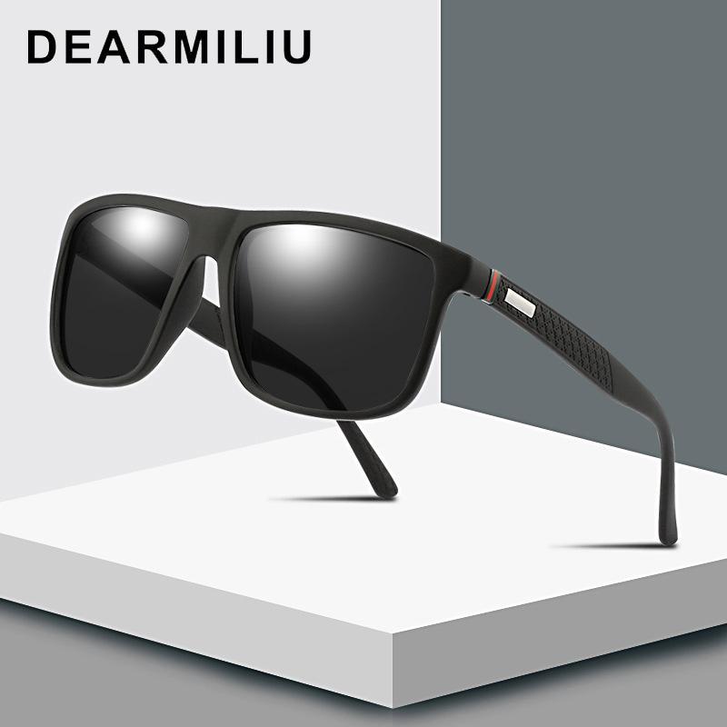 DEARMILIU 2020 Nueva gafas de sol polarizadas para hombres y mujeres Pesca clásico Gafas de sol Gafas de conducción UV400 okulary