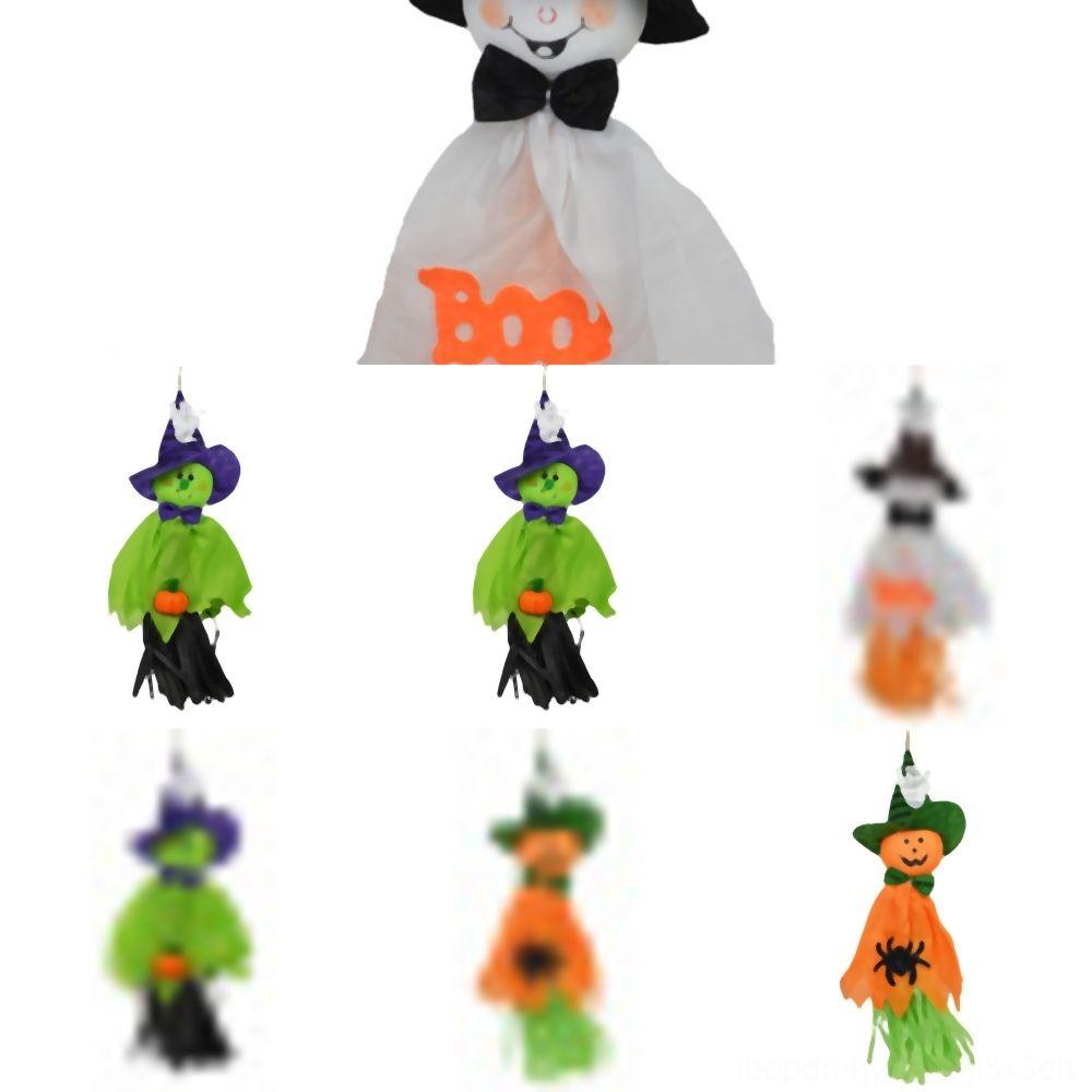 fantasmas qD70R Halloween NewCartoon Props coloridos bonitos pingentes Halloween Spiral Pendant cm Produtos Pingente Decoração Hot SaleShipping pumpki
