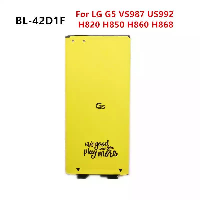 Phone Battery BL-42D1F Replacement For LG G5 VS987 US992 H820 H830 H840 H850 H860 H868 LS992 F700 2700mAh Batteries
