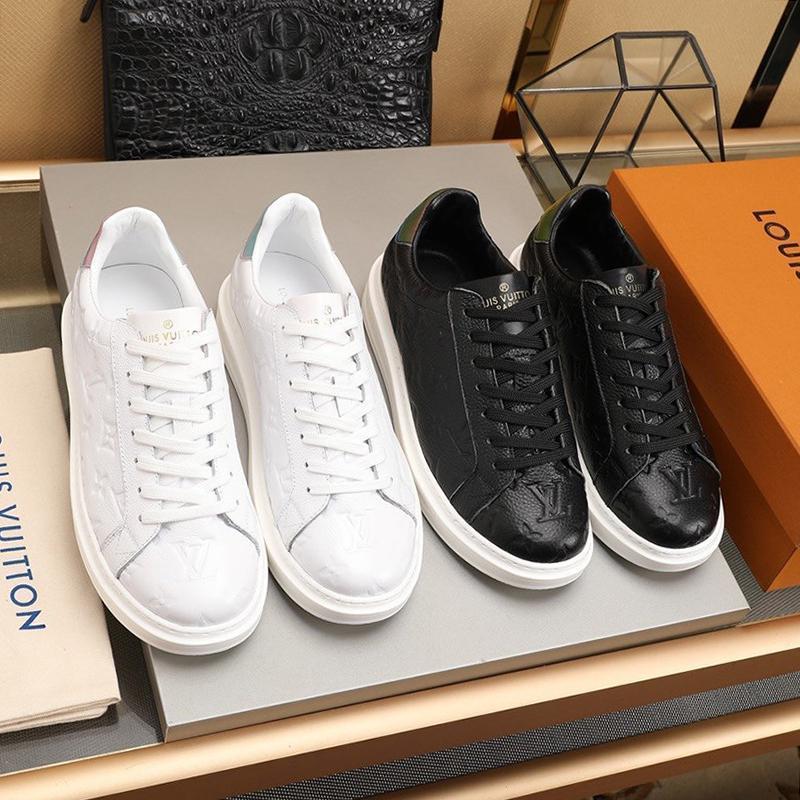 Drop Ship Chaussures Hommes Chaussures Chunky Herren Luxus Marken Schuhe Mode Chaussures design de luxe Riefsaw dentelle -Jusqu'à bas chausse Casual Male