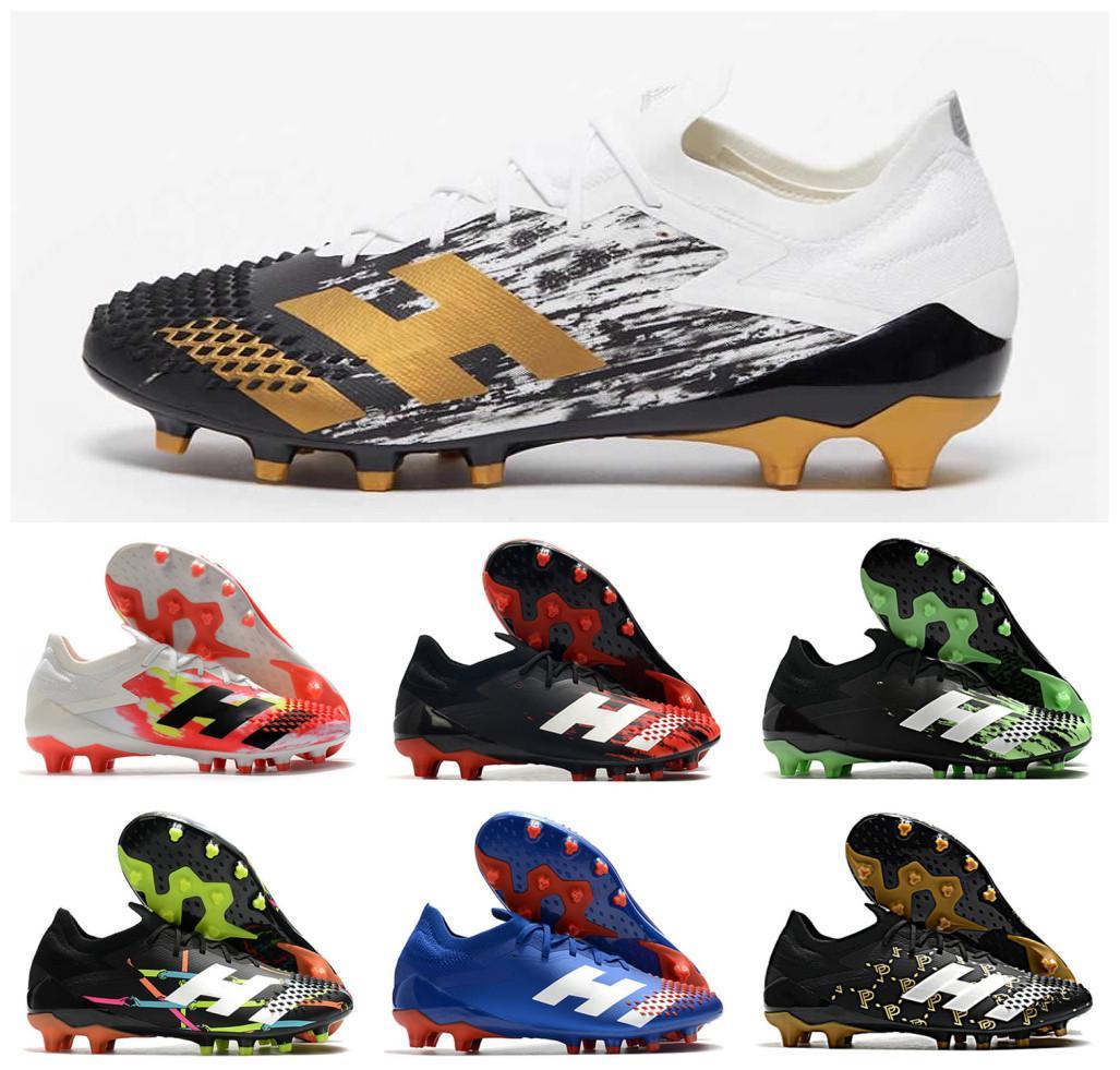 2020 أحذية المفترس Mutator 20.1 منخفضة AG رحلات الطيران PP بول بوغبا رجل بنين لكرة القدم لكرة القدم 20 + س المرابط أحذية الحجم 39-45